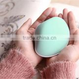 Shell charge hand warmer Portable mini hand warmer Electric heating treasure with mobile power supply and electric torch