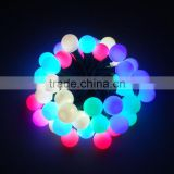 C7/C9/G40/G27 Christmas high bright full color string light with internal control