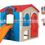 Kindergarten outdoor plastic playhouse for kids