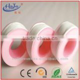high temperature resistance PTFE teflon pipe sealing thread tape