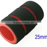 "Memory Foam Tattoo Grip Covers For Stainless Steel Disposable 1"" Tube"