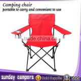 Lightweight easy folding canvas camping deck chair for sale