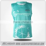 Custom made university school team basketball shirt shooting jersey