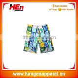 Hongen apparel Manufacturer supply beach party wear/boy underwear boxer shorts/men beach shorts