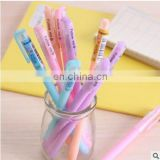 2017 Hot Sales Lovely Jelly 0.38mm Gel Pen Plastic Black Ink Gel Pen Stationery Office Supplies School Supplies