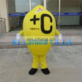 Professional adult cartoon lemon fruit costume for sale