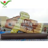 Supermarket advertising promotion inflatable chocolate