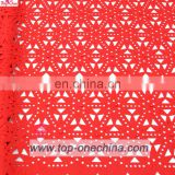 2017 Hot selling wholesale Lace Fabric Importer High Quality African Lace Fabrics Embroidered Wedding Fabric