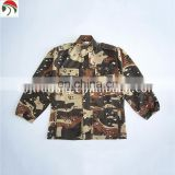 Hight Quality man military uniform shirts knitted colorful