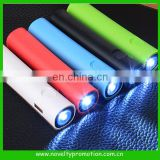 Promotion Charger Power Bank With Led Light