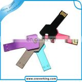 grade A flash chipest 4gb metal key usb
