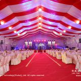 25m by 50m Decorated Tent for Corporate Events