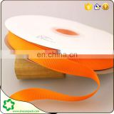 SHECAN 10 rolls orange Grosgrain Ribbon 15mm