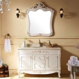 Chinese furniture manufacture produced economical bathroom vanity cabinet