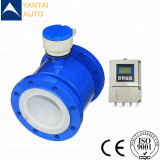 high quality smart electromagnetic flow meter used for slurry and grout