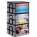 Large Capacity Foldable Fabric prefab houses vacuum Storage Bag Blanket Clothes Organizer Bins
