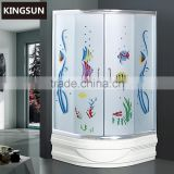 Chinese Bathroom Glass Shower Doors Fittings Steam Shower Cabins