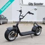2016 New Arrival Popular City 60V Lithium Battery Electric Motorcycle Self Balancing 2 Wheels Electric Scooter 800W Motor