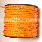 Flat Ply Braided Leather Cord Bolo Strip