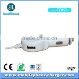 3.1A 3100mA 3in1 vehicle charger android device and smart phone car charger with 6 Feet cable
