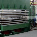 melamine boards press/hydraulic hot press BY21-4*8/120ton(3)D