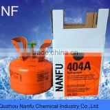 R404a gas used in refrigerators industrial coolers ice machines,,2.7kg