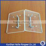 Custom factory hard perforated transparent plastic sheets parts                                                                                                         Supplier's Choice