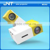 high resolution projector Mini LED Beam Projectors mini laser stage lighting projector for christmas