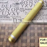 Customized various size anodized aluminum cigar tube (cigar tube) with screw cap