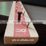 nailed wood/concrete carpet gripper/flooring tools carpet edging protect From China
