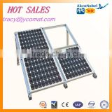 anodized silver /black aluminum extruded profiles for solar energy frames manufacturer in CHINA