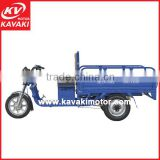 Kavaki Brand New Lead-acid Battery Operated 48V 20Ah Three Wheeler Cargo Tricycle Rickshaw For Sales