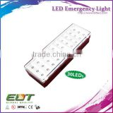 led light with 20 30 40 leds portable hanging rechargeable battery led emergency lighting module