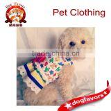 Dog clothes, dog dress, colorful animal print dog dress, puppy clothes, dog apparel, pet clothes, small dog clothes, small dog b