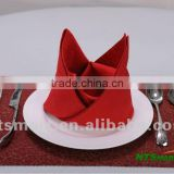 100% polyester napkin for hotel and banquet