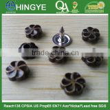 Flower Shape Zinc Alloy Rivets for Jeans Clothes -- RZ1412007