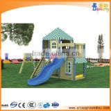 Crazy and stimulate amusement park Outdoor kids Play House