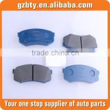 brake pads fit for toyota land cruiser prado OE 04466-60090 GRJ120 brake pads fit for toyota auto parts for land cruiser