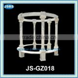marble western patio gazebo with pillar JS-GZ018