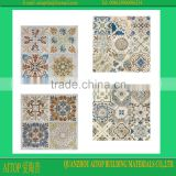 new flower cement floor tile rustic color