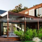 Wooden Villa house(luxury steel prefabricated)