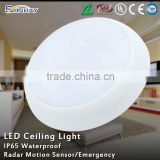 IP65 Waterproof LED Shower Ceiling Light for Bathroom, Outdoor LED Solar Downlight