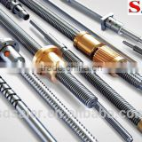 SFU2505 ball screws with thin-film lubrication for vacuum environment