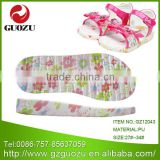 Best quality colorful flat children pu shoe sole factory in foshan                                                                         Quality Choice