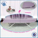 Wood Tabletop Home Hotel Office Use 80*30cm (H)19CM 100% Cotton Covered Small Ironing Board Foldable