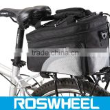 NEW IBERA Bicycle Touring Commuter rear seat bike cycling bag IB-BA11 carbon saddle