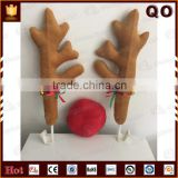 High quality custom car decoration Reindeer antlers and nose