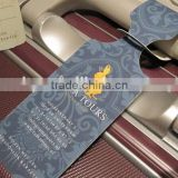 custom airline paper baggage tag (M-HT152)