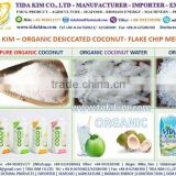 ORGANIC DESICCATED COCONUT FLAKE CHIP HIGHT FAT - TETRA BOX COCONUT WATER UHT TIDA KIM ORGANIC FRESH PURE NATURAL YOUNG COCONUT