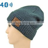Bluetooth 4.1 Wireless Smart Beanie Headset Musical Knit Headphone Speaker Hat Speakerphone Cap